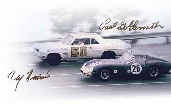 Number 50 Car at Daytona Racing